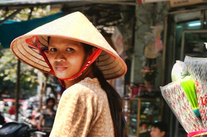 Rikszą po Hanoi