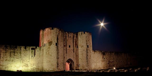 Aigues-Mortes, czyli zamek z bajki