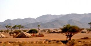 wiska w drodze do Port Sudanu