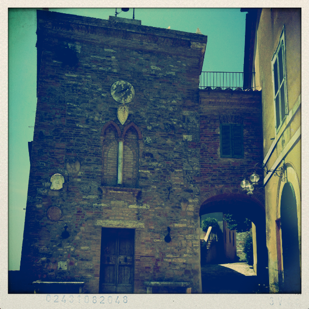 Tuscan villages and towns