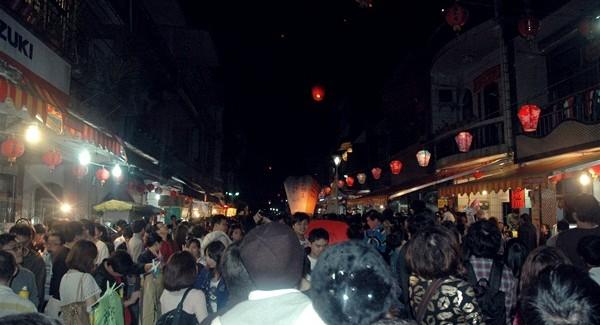 Tajwańskie Święto Lampionów