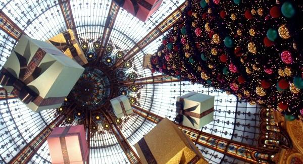 Paryż w grudniu