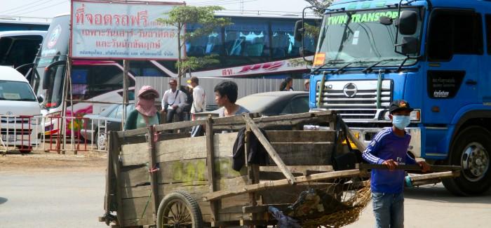 W drodze: z Bangkoku do Siem Reap