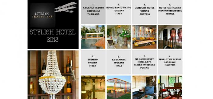 STYLISH HOTEL 2013 – nominacje