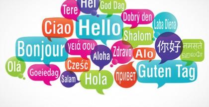 nuage de mots bulles : bonjour traduction