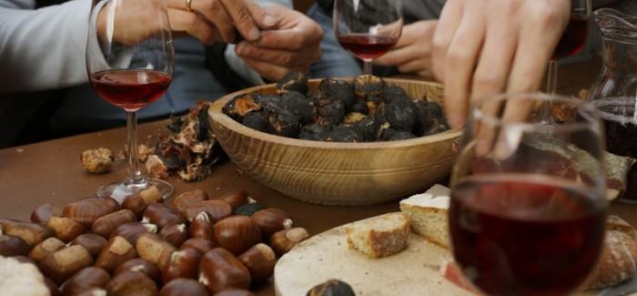 Törggelen czyli święto młodego wina i kasztanów