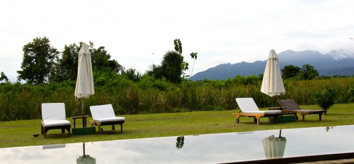 Oriental eclecticism in Temple Tree Resort/Langkawi