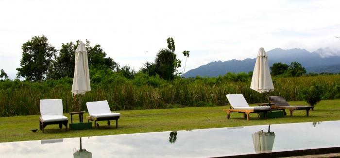 Oriental eclecticism in Temple Tree Resort/Langkawi