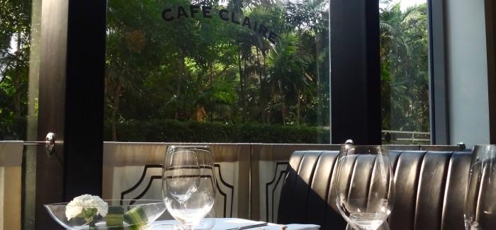 Kolacja w Cafe Claire