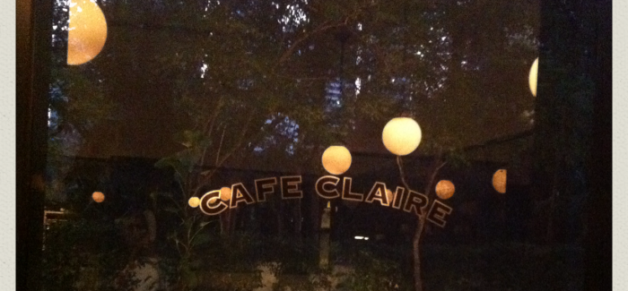 INTOrestaurants: Cafe Claire at Oriental Residence Bangkok
