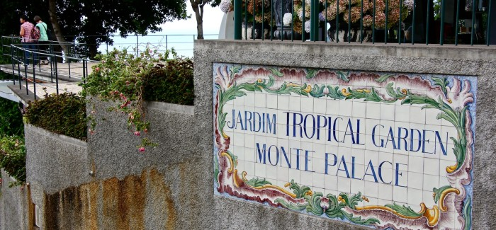 MONTE PALACE TROPICAL GARDEN – Funchal/Madera