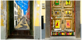 Sztuka na drzwiach – photo story Funchal/Madera
