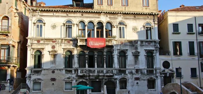 Pałacowy hotel w Wenecji: PALAZZO VITTURI