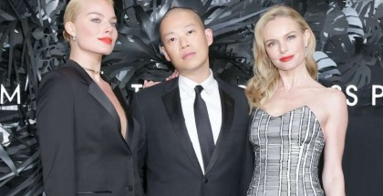 Margot Robbie, (Dressed in BOSS), Jason Wu, Kate Bosworth, (Dressed in BOSS)