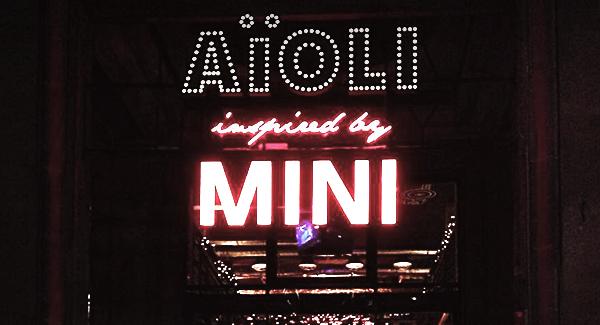 Nowe miejsce:  AïOLI inspired by MINI