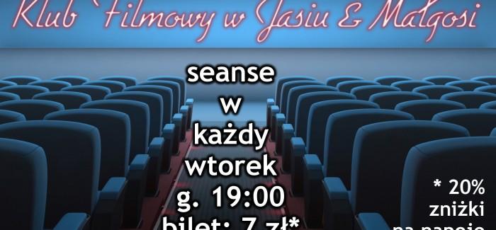 Klub filmowy w klubokawiarni Jaś & Małgosia