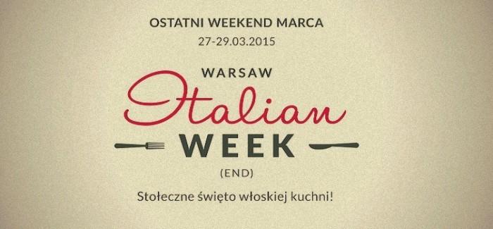 Warszawskie święto włoskiej kuchni!