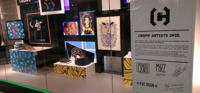 Projekt EVC DSGN w CROPP Artists 2K15