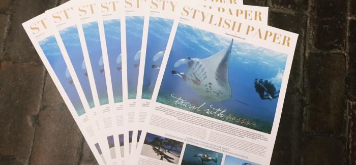 PREMIERA:STYLISHpaper no.2
