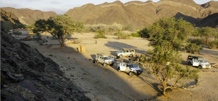 Offroad w Namibii