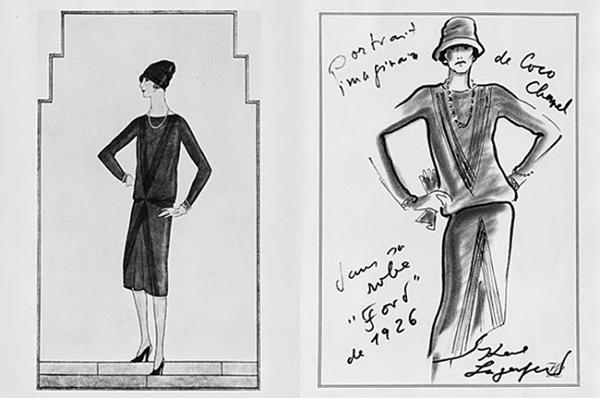 Coco Chanel, 1926, projekt Chanel's Ford