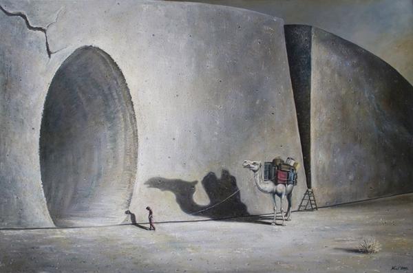 Fot 1. SLEMP Krzysztof - La cruna di un ago