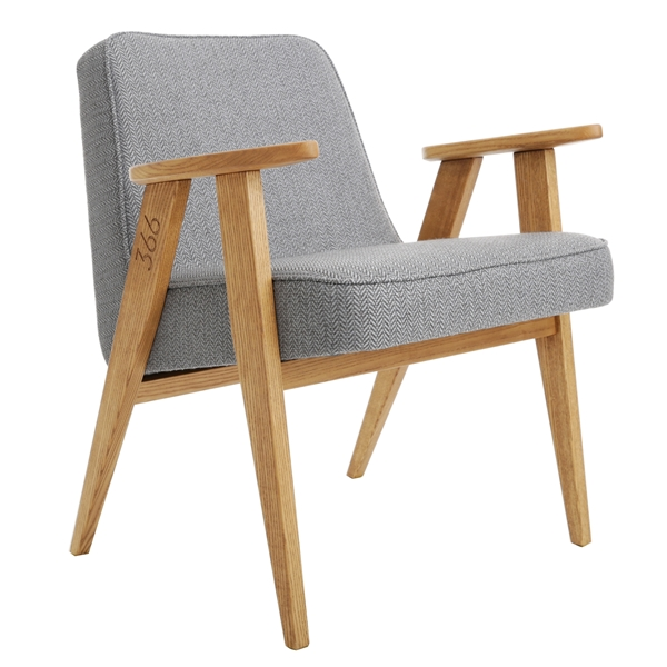 Armchair 366 Concept Happy Hipster Grey 2 (1)