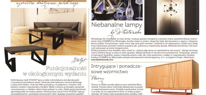 Polski design, czyli kreatywność i niebanalne wzornictwo