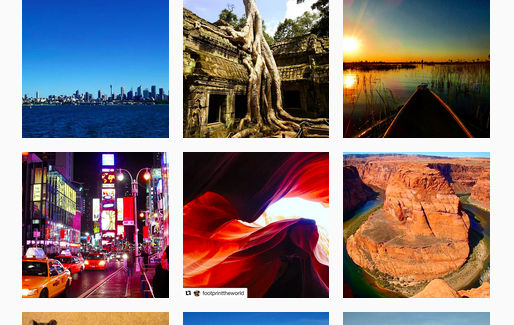 TOP TRAVEL INSTAGRAM