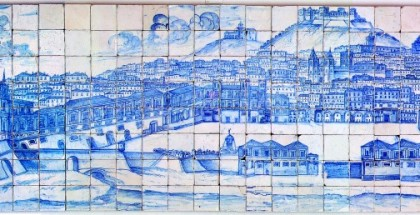 Museu Nacional do Azulejo- Photo 9 - Grande Panorama de Lisboa, c. 1700- fot Museu Nacional do Azulejo- DGPC-Carlos Monteiro-sm web