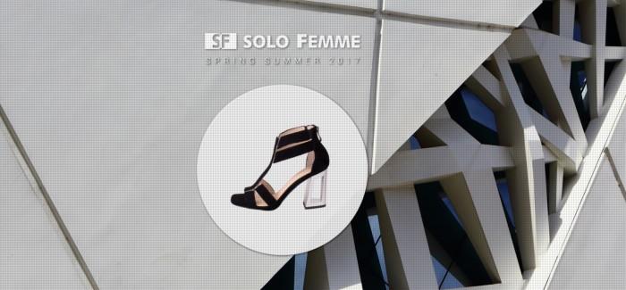 SOLO FEMME ss 2017 – nowoczesne wzornictwo