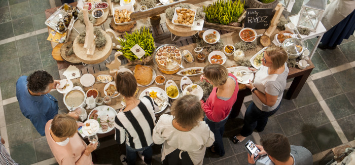 Tasty Stories, kolacja Flora i Fauna w Hotelu SPA Dr Irena Eris