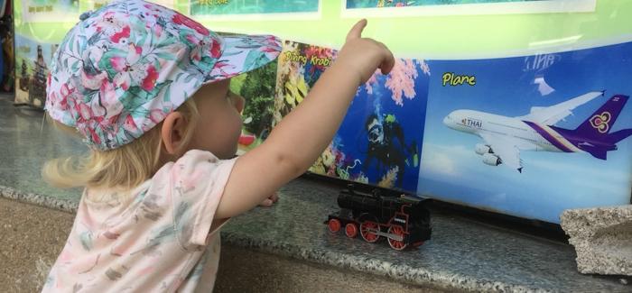 Długi lot z małym dzieckiem czyli lecimy do Tajlandii