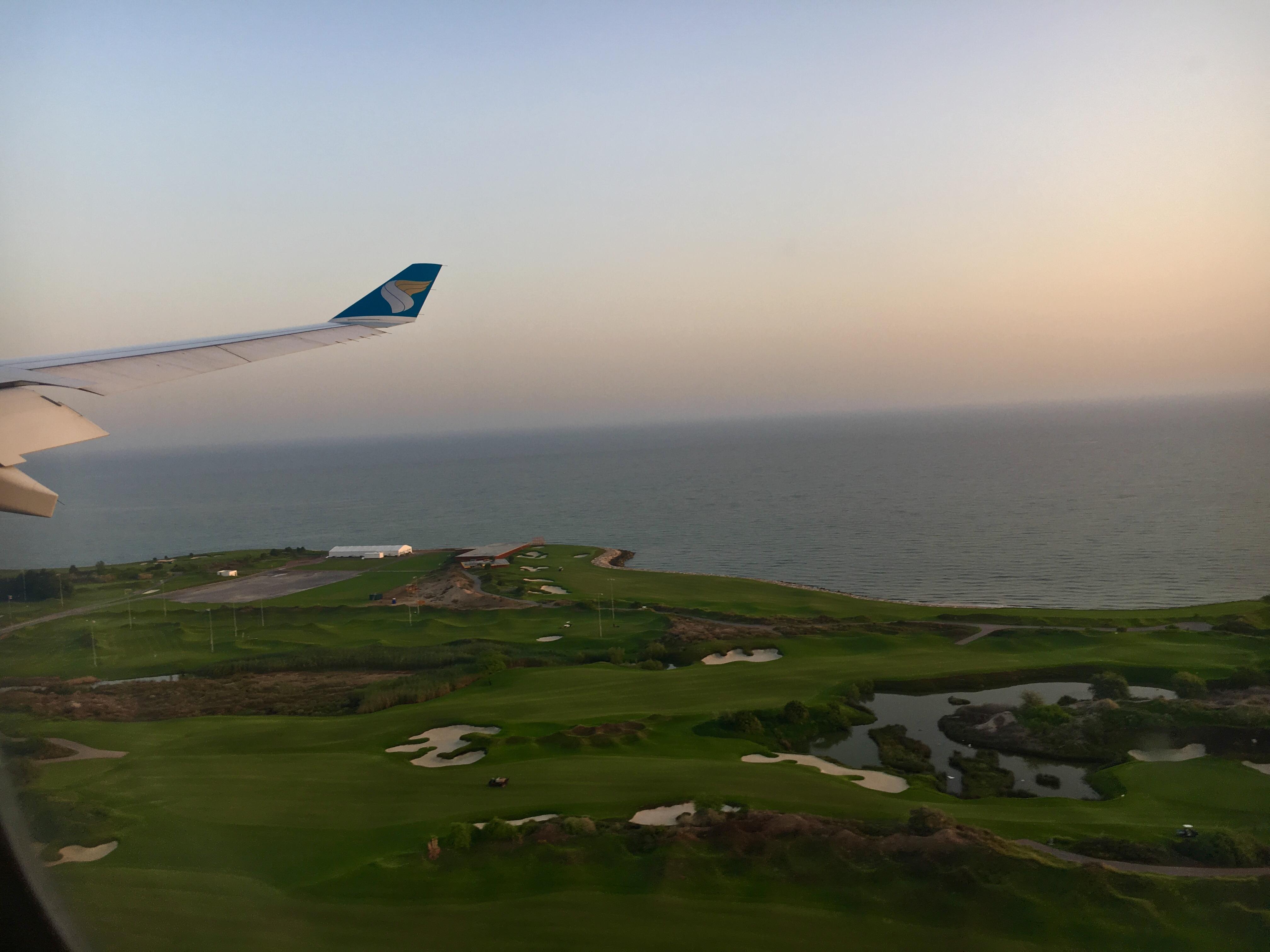 Lądowanie w Omanie