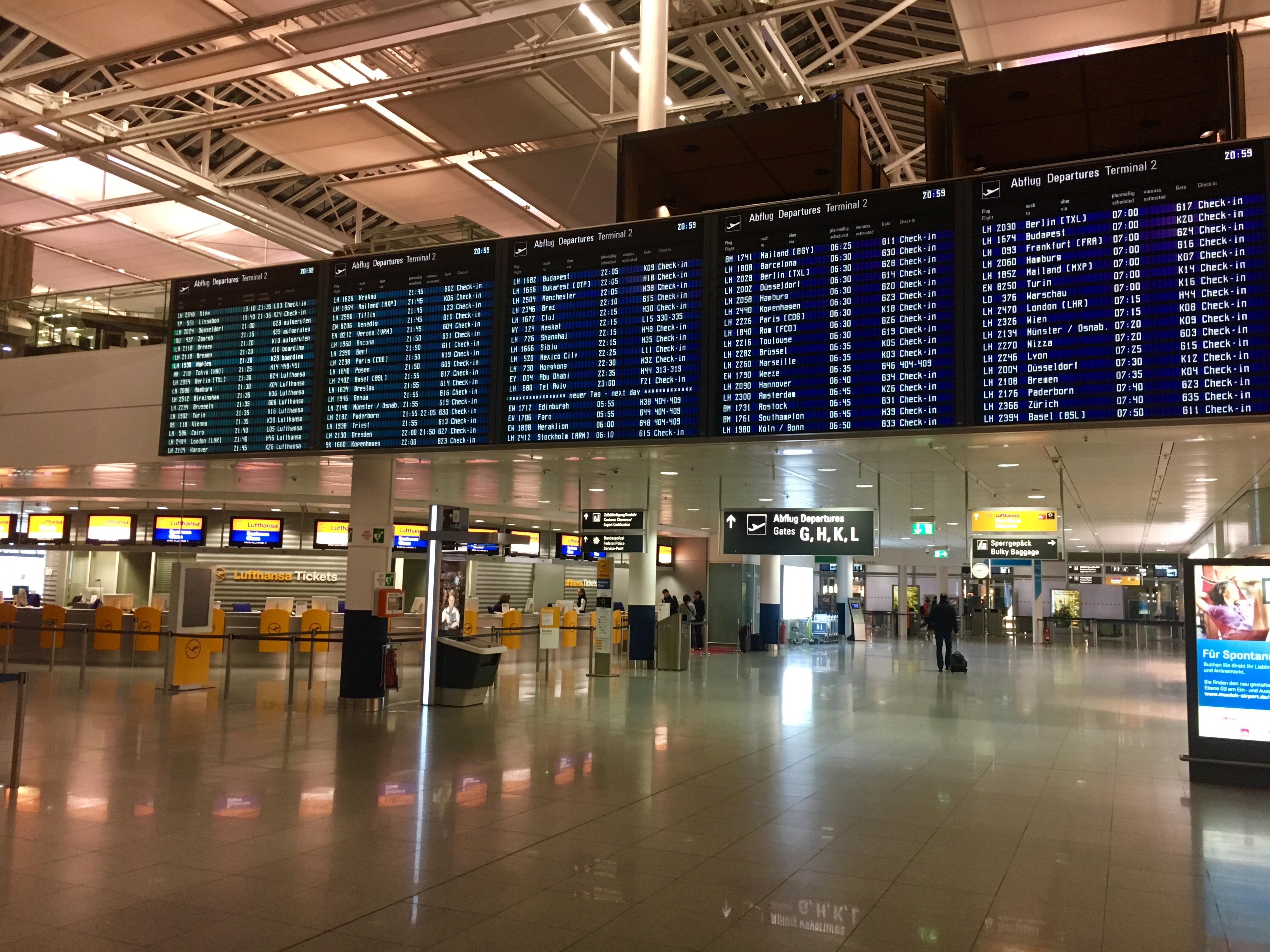 Lotnisko Monachium