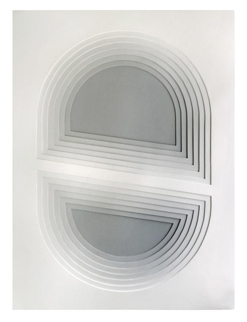 INTO THE GRAY, 100 x 135 cm, 2018
