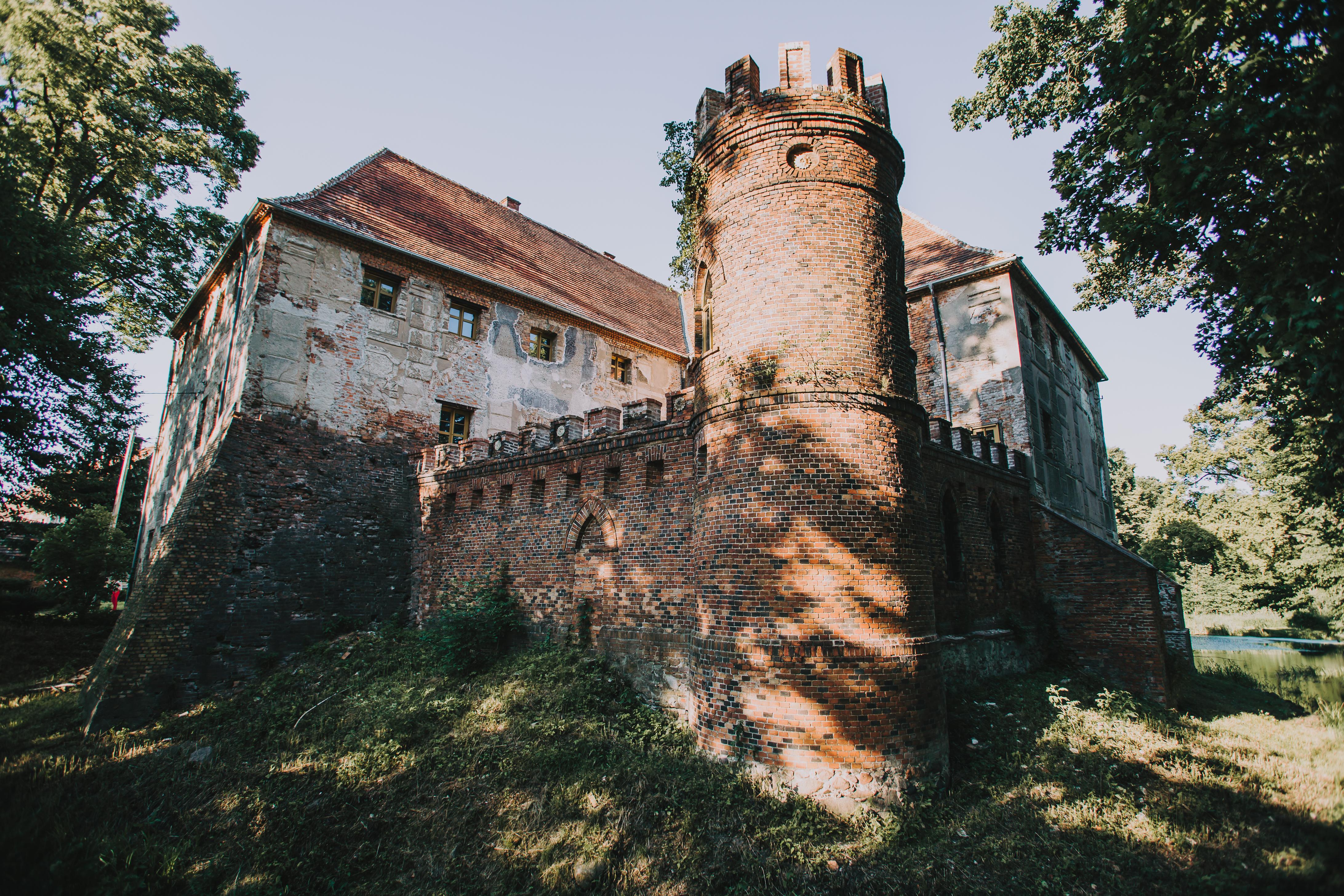 Zamek Broniszow Wieza