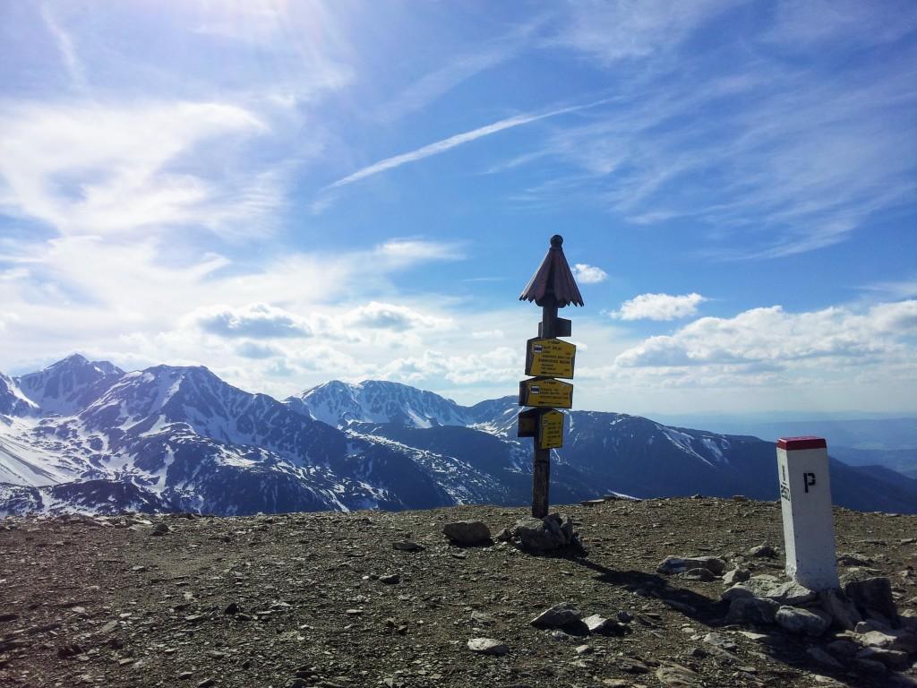 Widok ze szczytu Rakoń