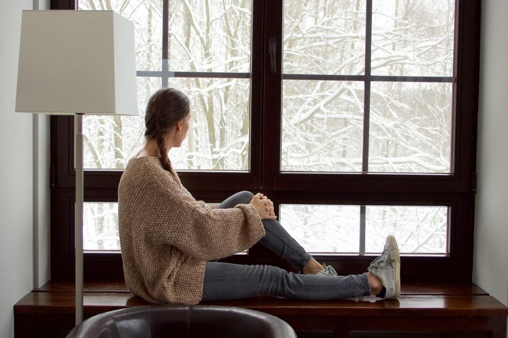okno sweter