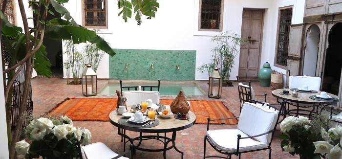 STYLISH hotel: Riad Altair/Marrakech