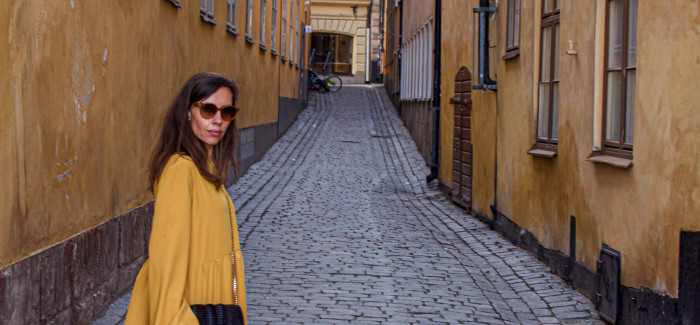 SZTOKHOLM – walizka z podróży