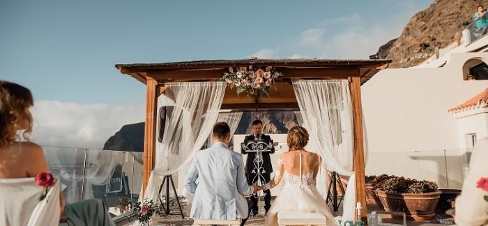 Stylowy ślub na Teneryfie
